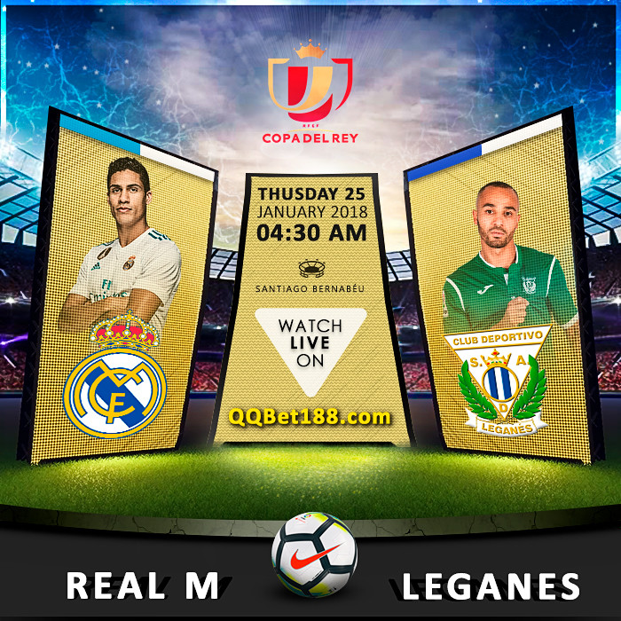 Real Madrid VS Leganés