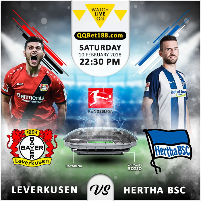 Bayer Leverkusen VS Hertha BSC