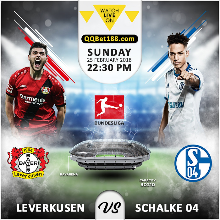 Bayer Leverkusen VS Schalke 04