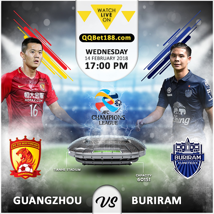 Guangzhou Evergrande VS Buriram United