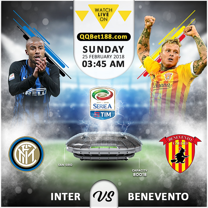 Internazionale VS  Benevento