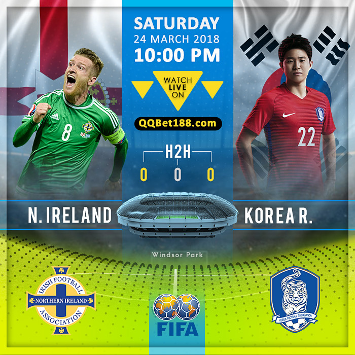 Northern Ireland VS Korea Republic