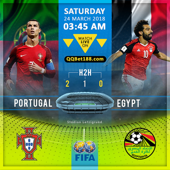 Portugal VS Egypt