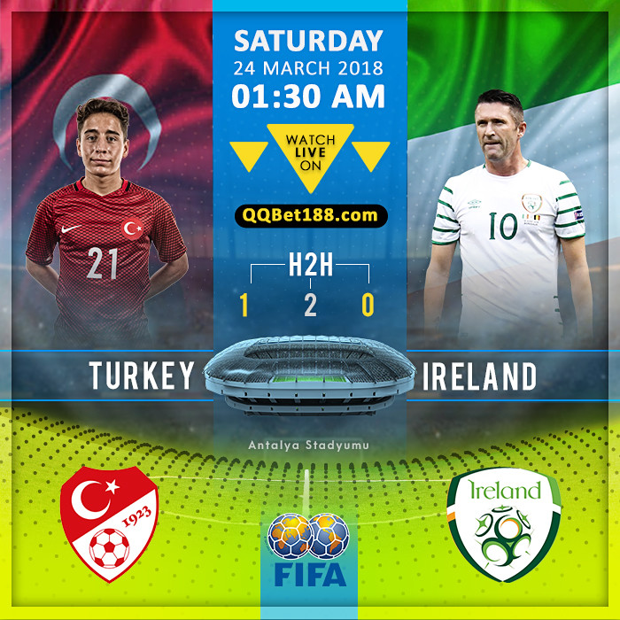 Turkey VS Republic Of Ireland