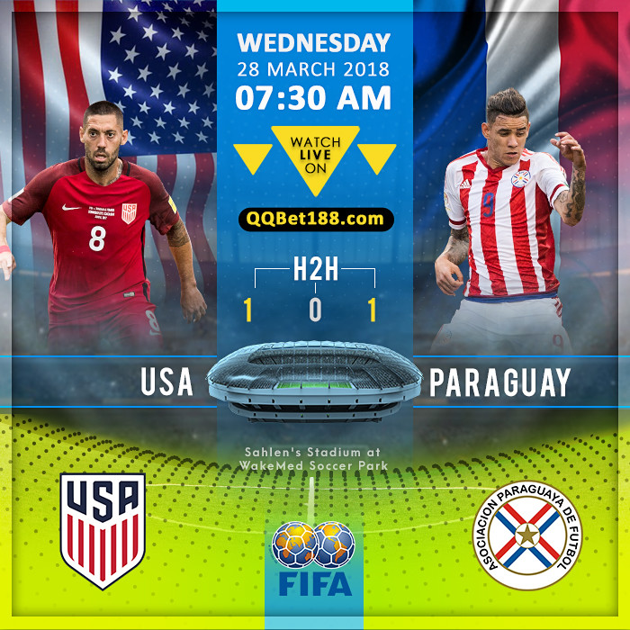 United States VS Paraguay