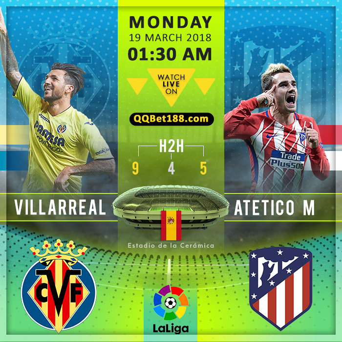 Villarreal VS Atletico Madrid