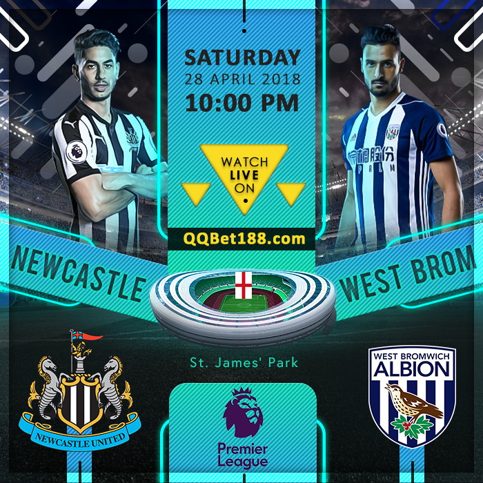 Newcastle United VS  West Bromwich Albion
