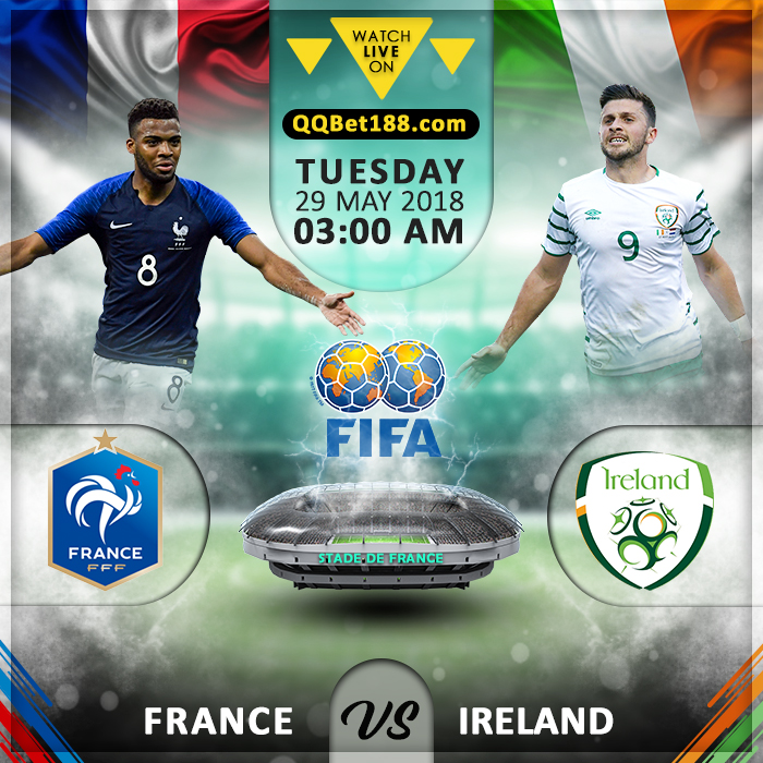 France vs Republic of Ireland