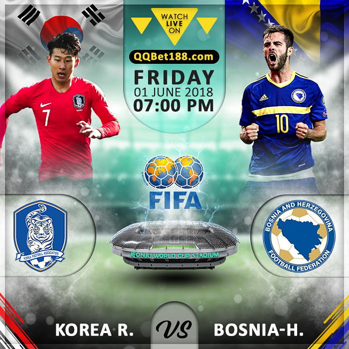 Korea Republic vs Bosnia-Herzegovina