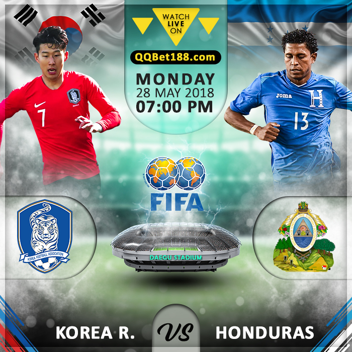 Korea Republic vs Honduras