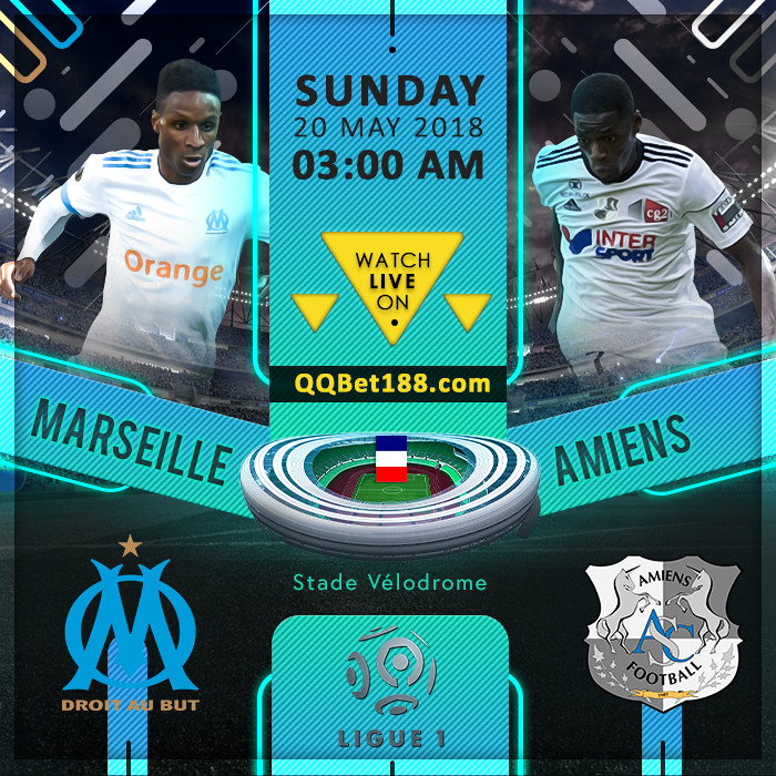 olympique marseille vs amiens sc. Black Bedroom Furniture Sets. Home Design Ideas