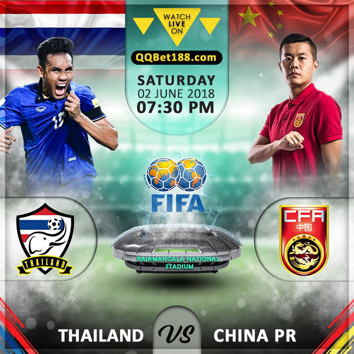 Thailand VS China PR