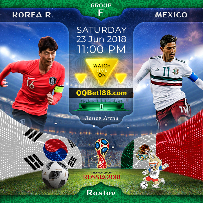Korea Republic VS Mexico