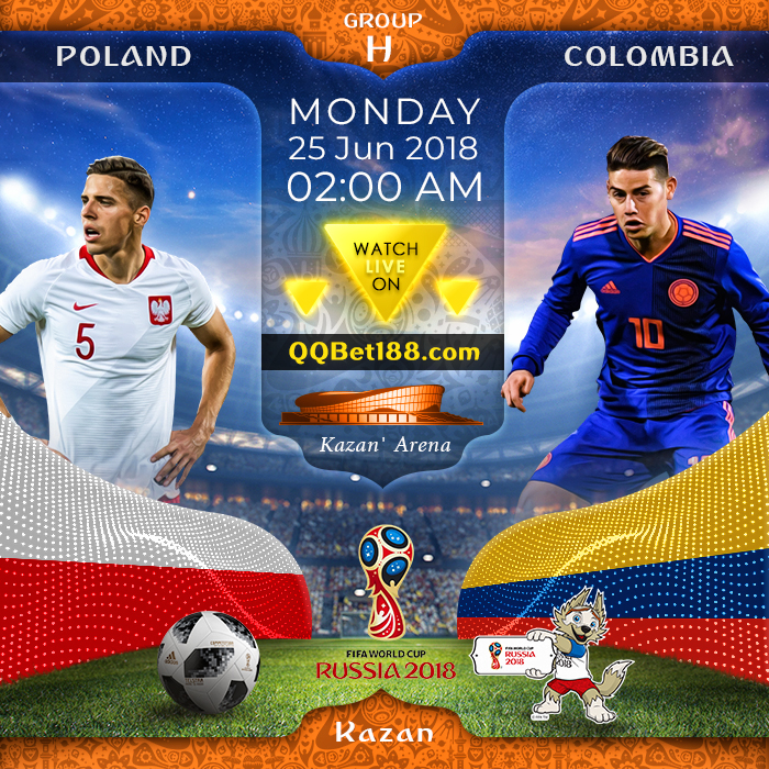Poland VS Colombia