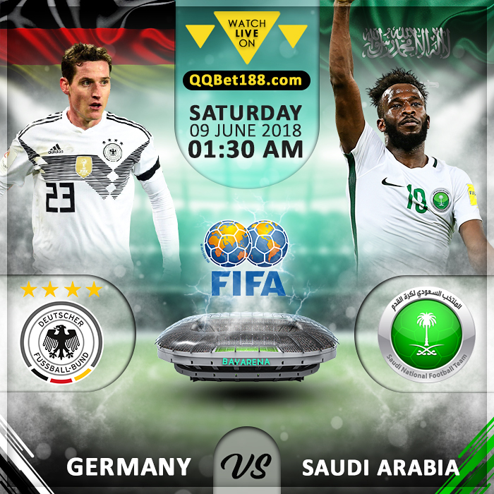 Germany VS Saudi Arabia