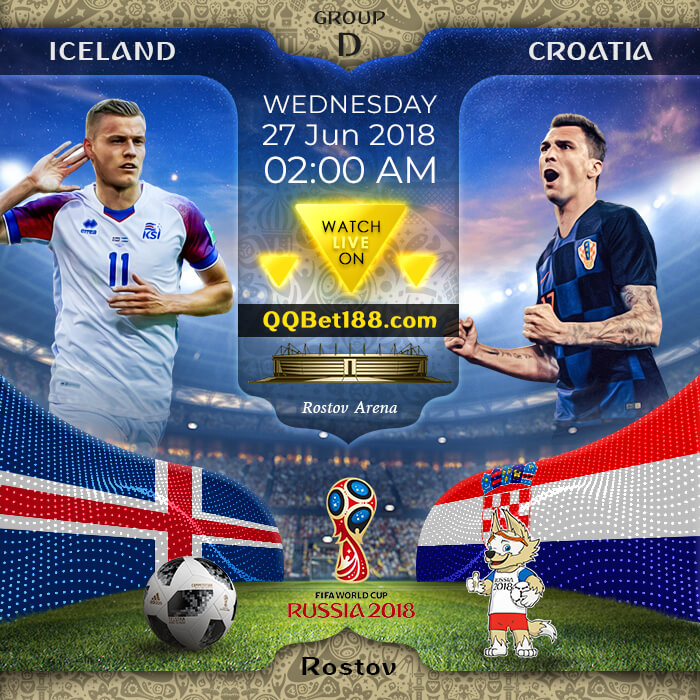 Iceland VS Croatia