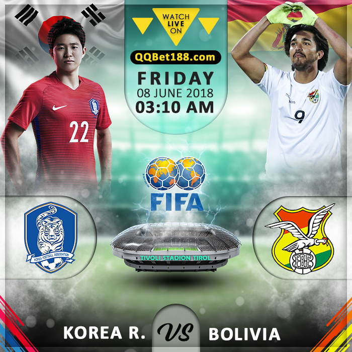 Korea Republic VS Bolivia