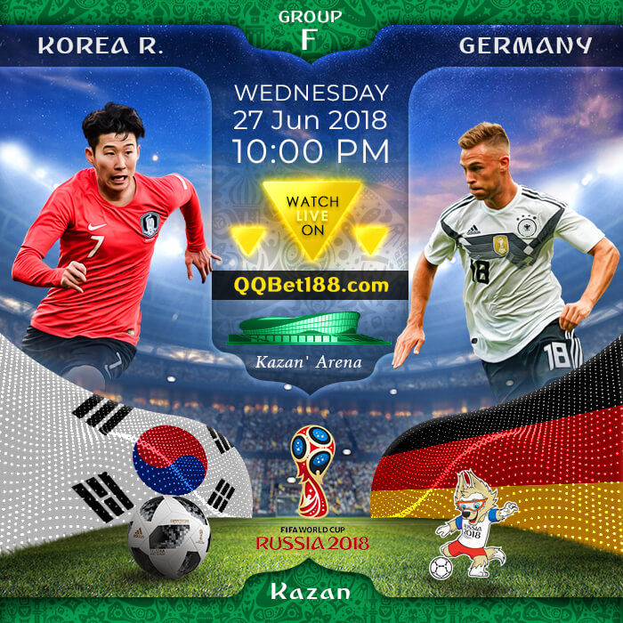 Korea Republic VS Germany