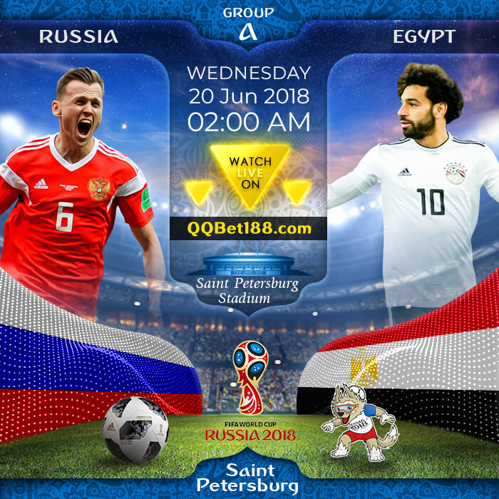 Russia VS Egypt