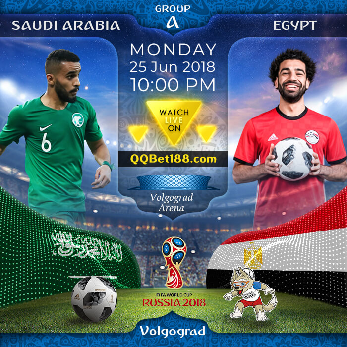 Saudi Arabia VS Egypt