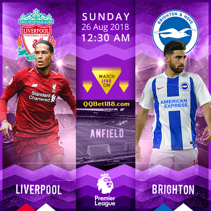 Liverpool VS Brighton & Hove Albion