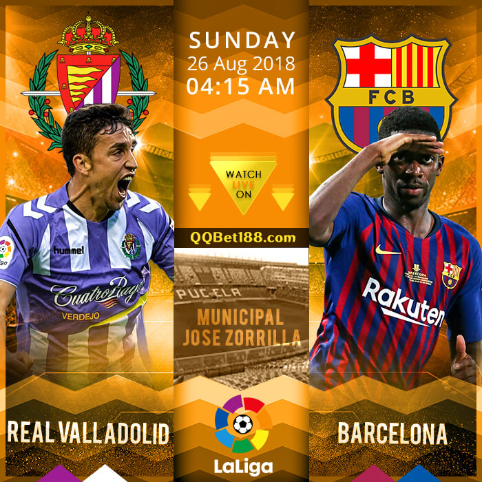 Real Valladolid VS Barcelona