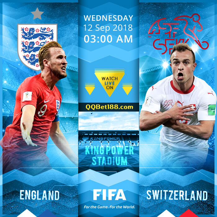 England VS Switzerland