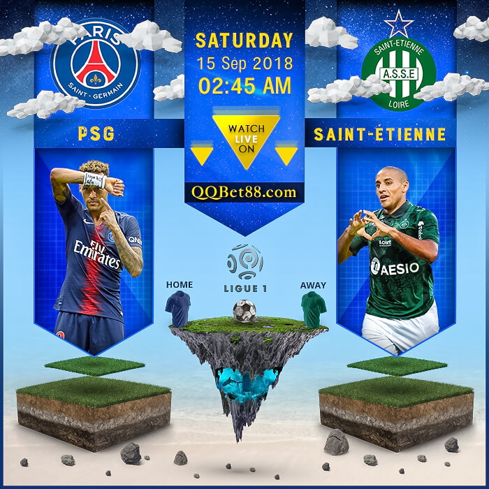 PSG VS Saint-Étienne