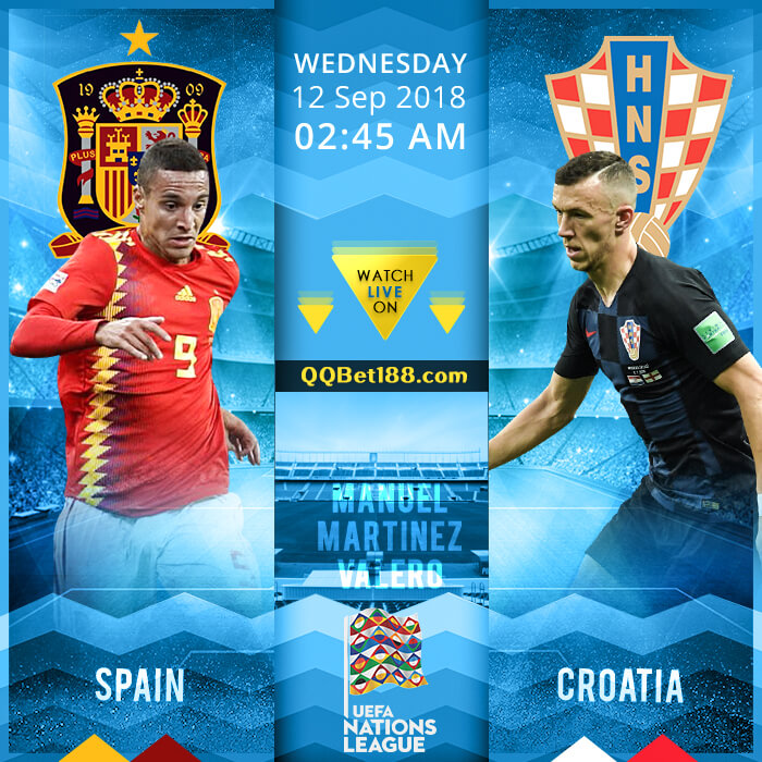 Spain VS Croatia