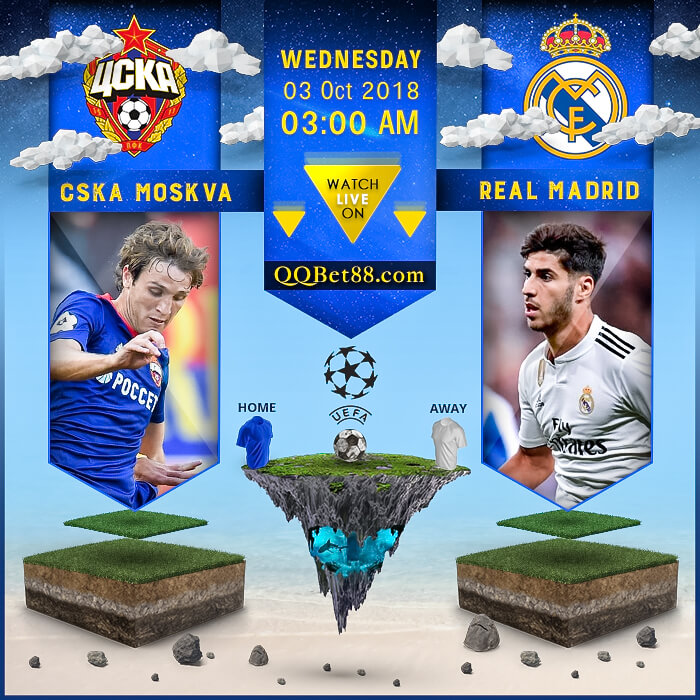 CSKA Moskva VS Real Madrid