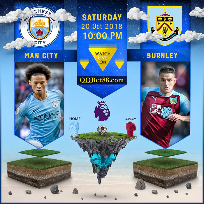 Manchester City VS Burnley