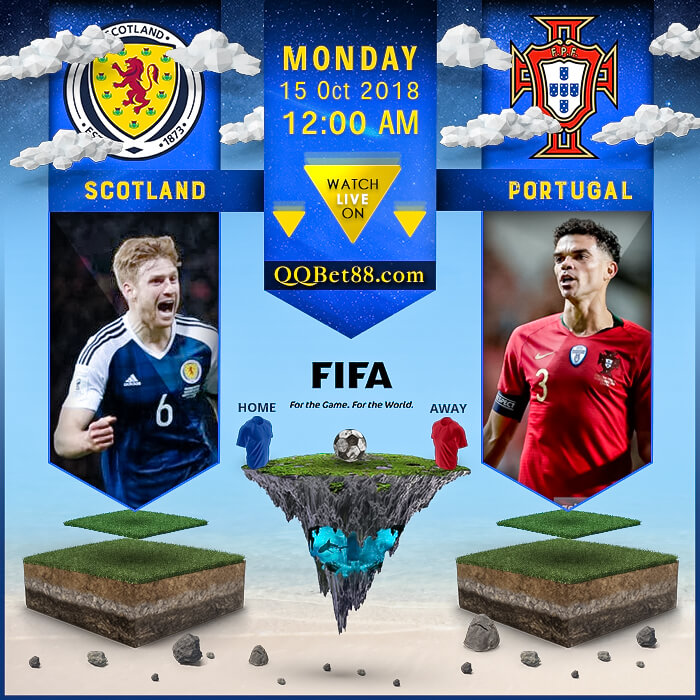 Scotland VS Portugal
