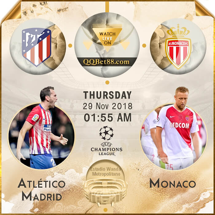 Atlético Madrid VS Monaco