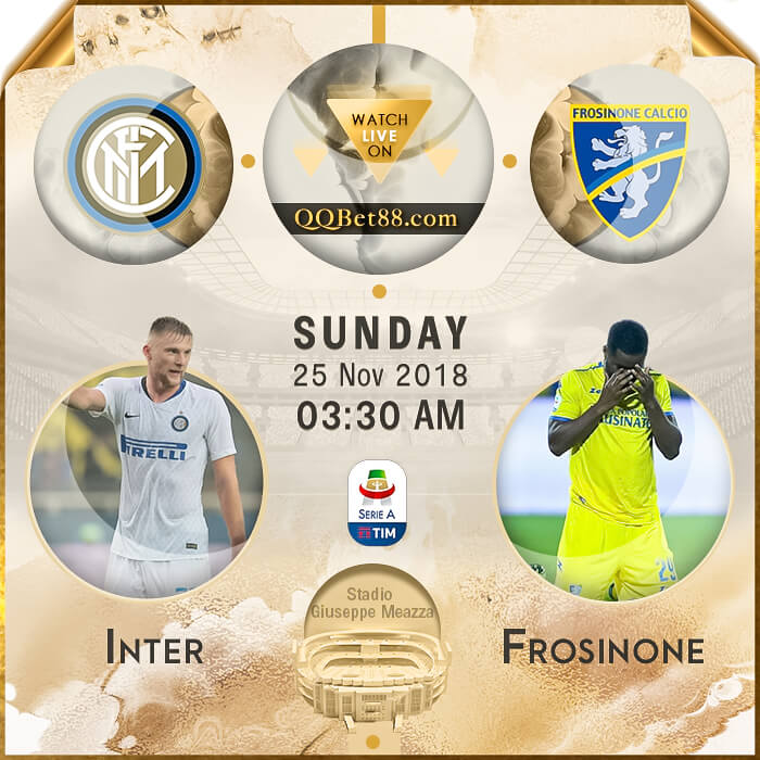 Internazionale VS Frosinone