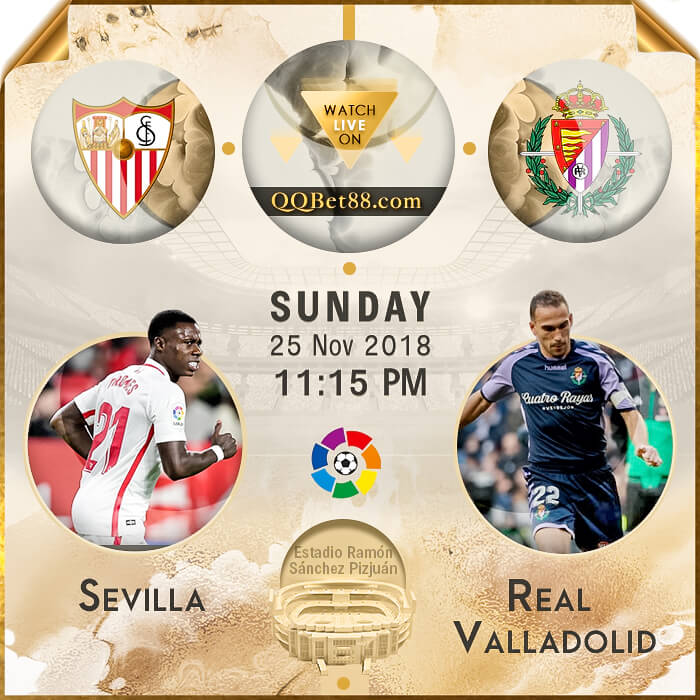 Sevilla VS  Real Valladolid