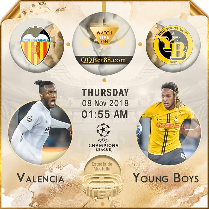 Valencia VS Young Boys