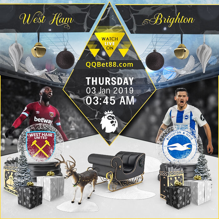 West Ham United VS Brighton & Hove Albion