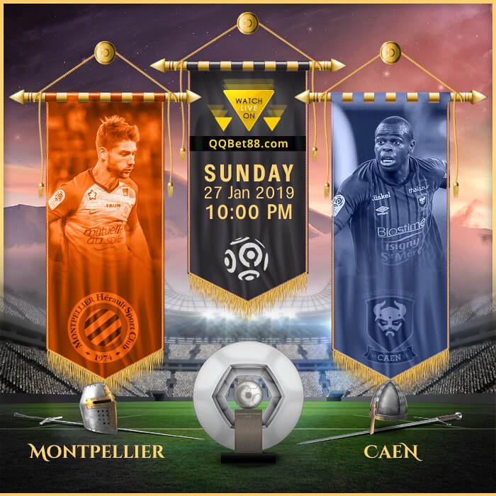 Montpellier VS Caen