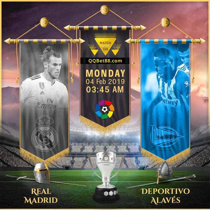 Real Madrid VS Deportivo Alavés