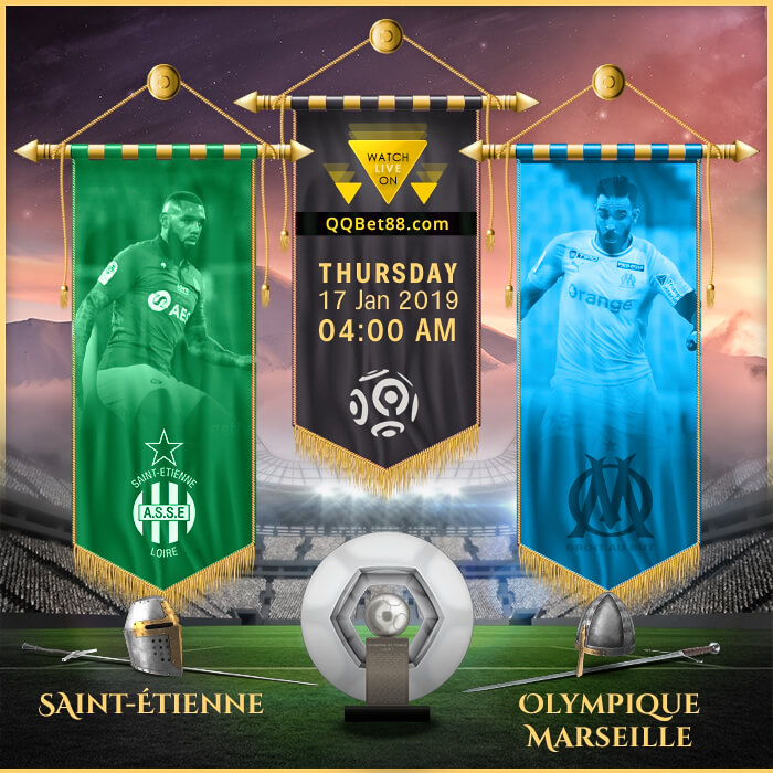 Saint-Étienne VS Olympique Marseille