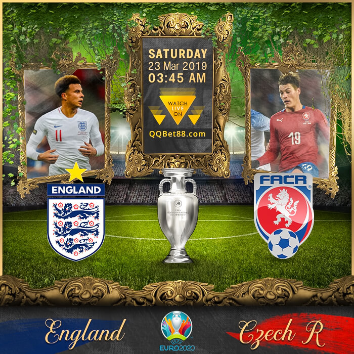 England VS Czech Republic