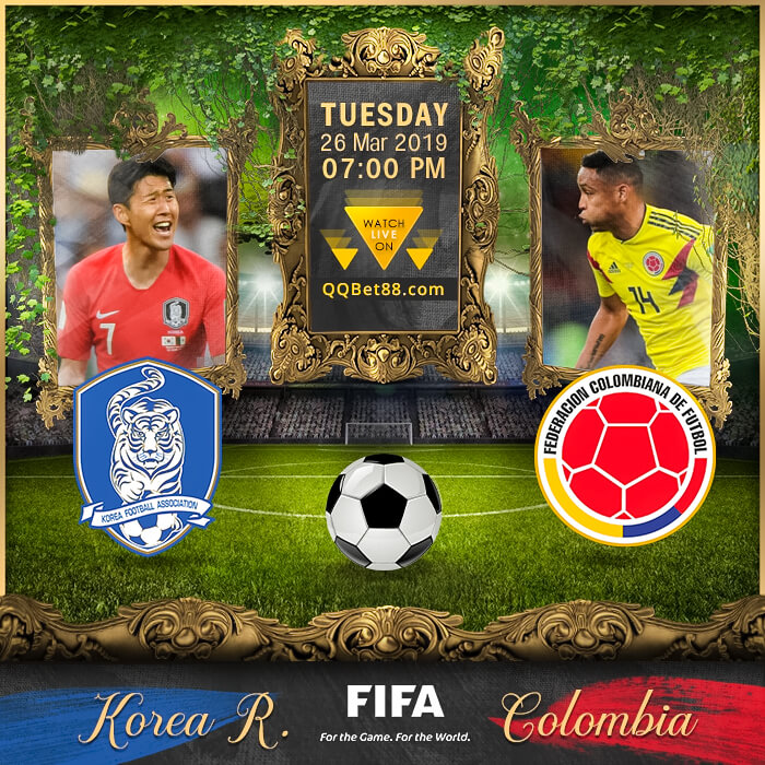 Korea Republic VS Colombia