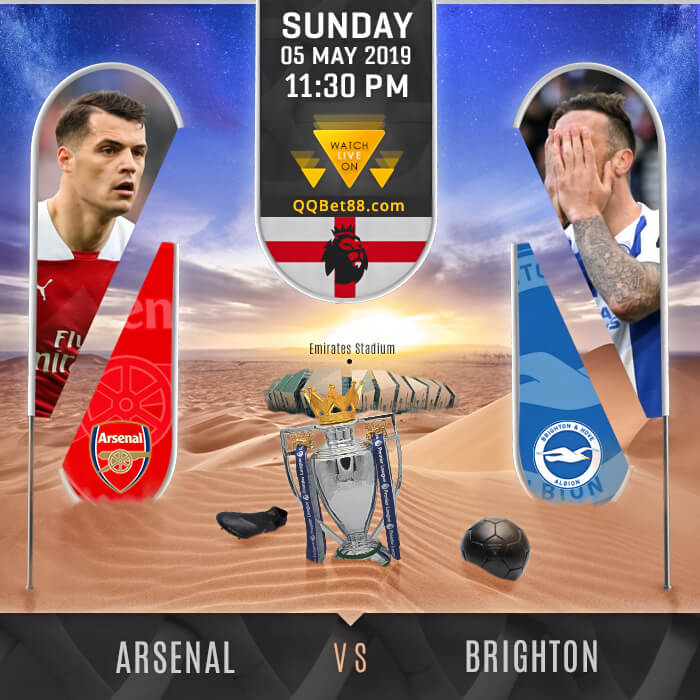 Arsenal VS Brighton & Hove Albion