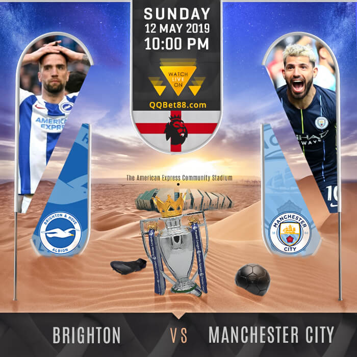 Brighton & Hove Albion VS Manchester City