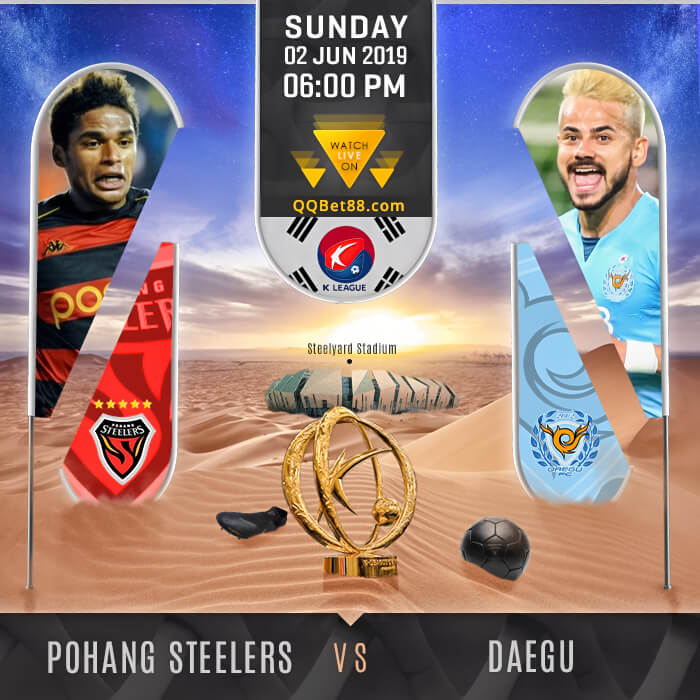 Pohang Steelers VS Daegu