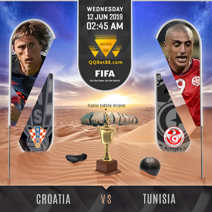 Croatia VS Tunisia