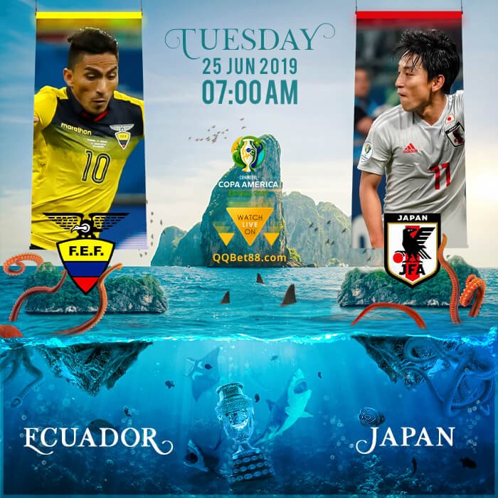 Ecuador VS Japan