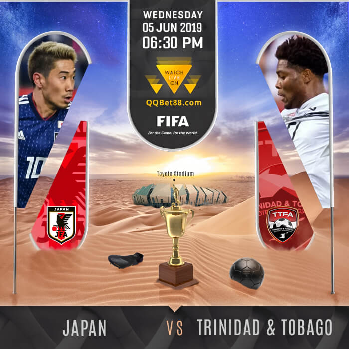Japan VS Trinidad and Tobago