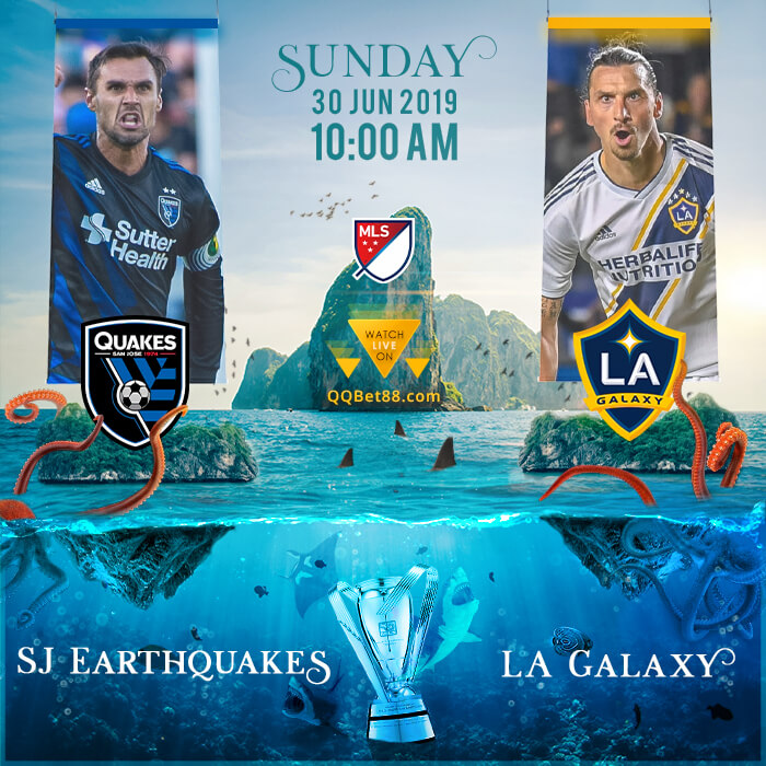 SJ Earthquakes VS LA Galaxy