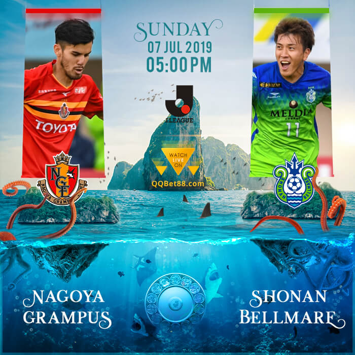 Nagoya Grampus VS Shonan Bellmare